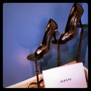 Alfani, Tina, Open-toe Pumps